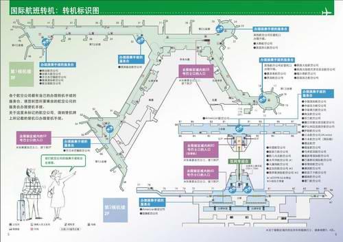 飞往美国 东京成田机场转机流程图(组图)