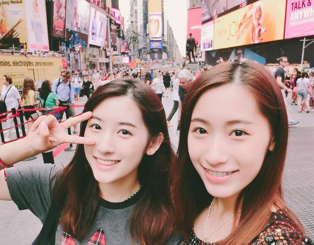 哈佛录取复旦高颜值双胞胎姐妹