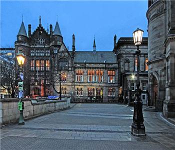 英国爱丁堡大学风景